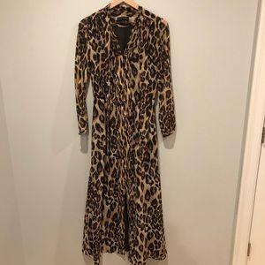 NWOT Cheetah Print Dress